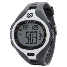 Soleus Dash Digital Sports Watch in White/Grey - Closeouts