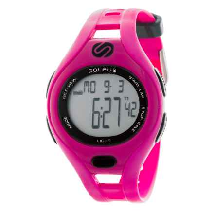 Soleus Dash Digital Watch - Small in Pink - Closeouts