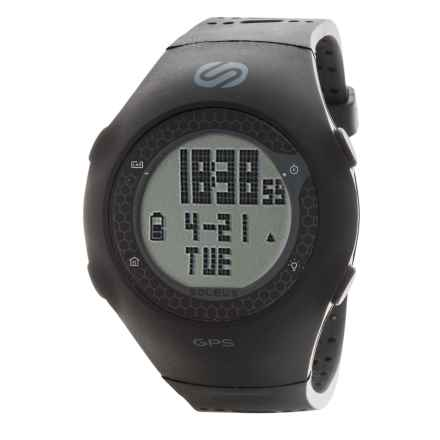 Soleus GPS Turbo Watch in Black/Grey - Closeouts
