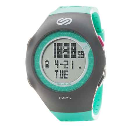 Soleus GPS Turbo Watch in Mint/Grey - Closeouts