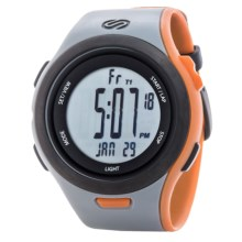 Soleus Ultra Sole Sports Watch in Black/Grey/Orange - Closeouts