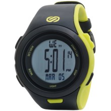 Soleus Ultra Sole Sports Watch in Black/Lime - Closeouts
