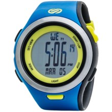 Soleus Ultra Sole Sports Watch in Blue/Black/Lime - Closeouts