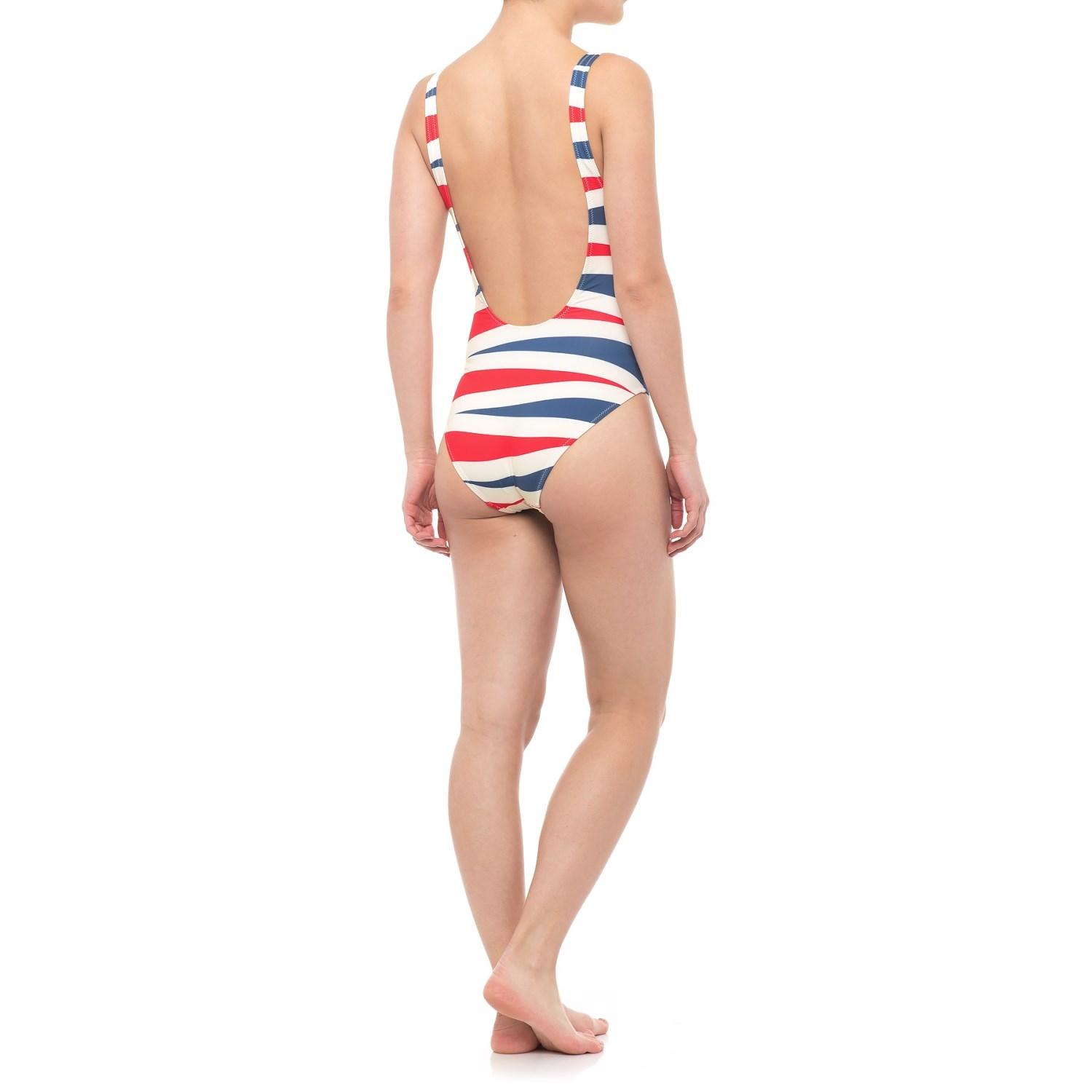 384b60e0619d8 Solid & Striped The Anne-Marie One Piece Swimsuit (For Women) - Save 86%