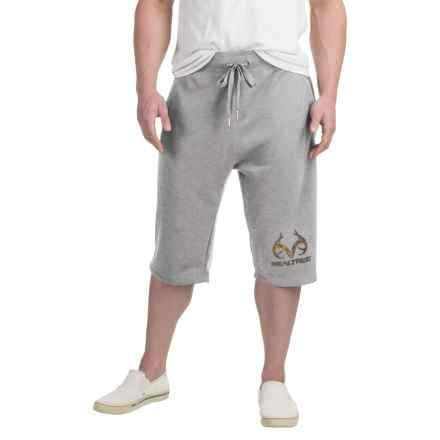 Solid Knit Shorts (For Men) in Grey - 2nds