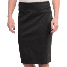Solid Knit Skirt (For Women) in Black - 2nds