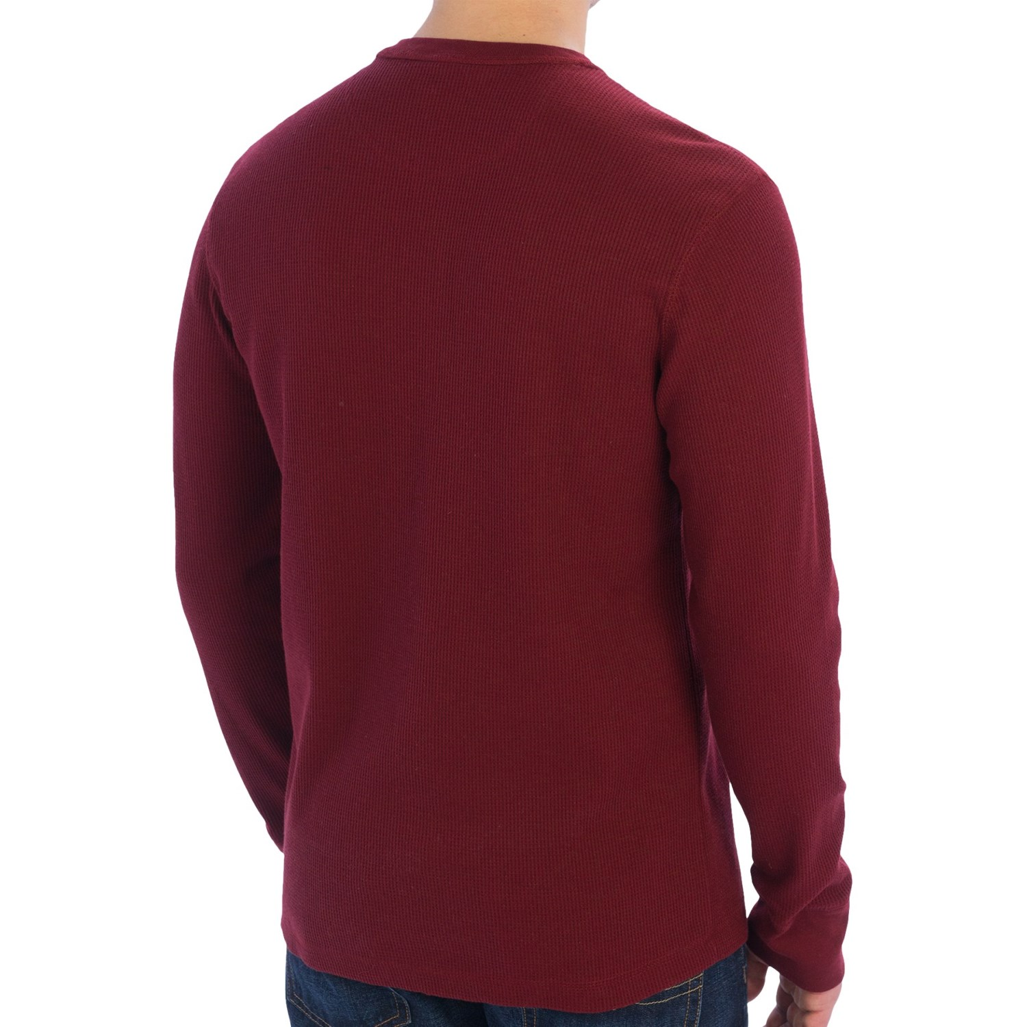 solid thermal knit shirt for men 8746a save 44