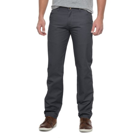 Solid Twill Pants (For Men)
