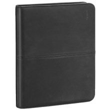 Solo Classic Leather Padfolio in Black - Closeouts