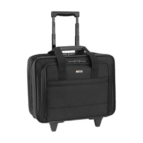 Solo Classic Rolling Briefcase in Black