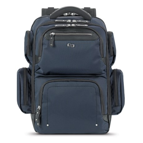 Solo Lexington 31L Backpack in Navy