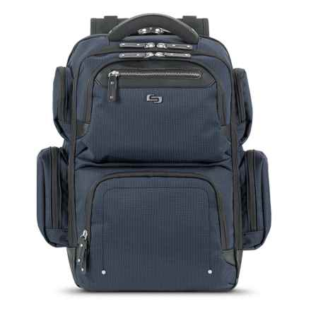 Solo Lexington Backpack in Navy - Closeouts
