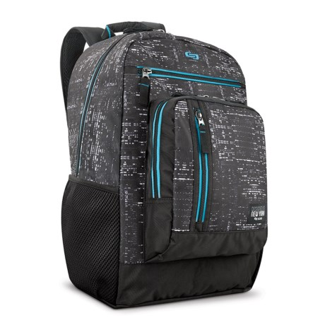 Solo Midnight 20L Backpack in Black/Blue