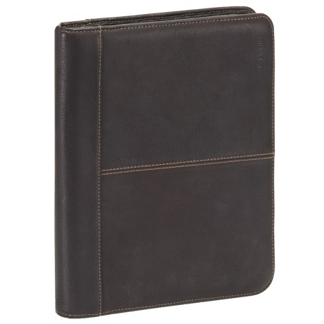 Solo Vintage Leather Padfolio in Espresso