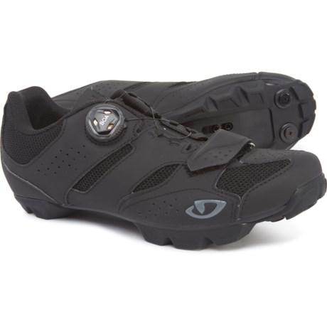 Soltero BOA(R) Mountain Bike Shoes - SPD (For Men) - BLACK/CHARCOAL (45 )