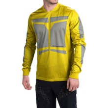 Sombrio Duster Cycling Jersey - Long Sleeve (For Men) in Phenom/Shadow - Closeouts