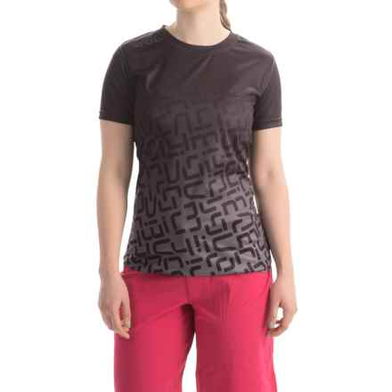 Sombrio Slice-N-Dice Cycling Jersey - Short Sleeve (For Women) in Black - Closeouts