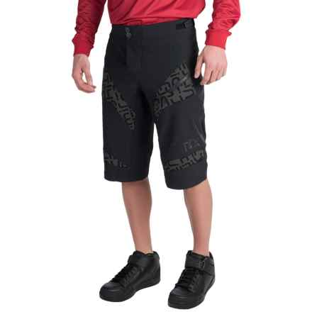 Sombrio Supra Mountain Biking Shorts (For Men) in Black/Black - Closeouts