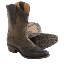 Sonora Jessi Cowboy Boots - Leather, Snip Toe (For Women) in Chocolate - Closeouts