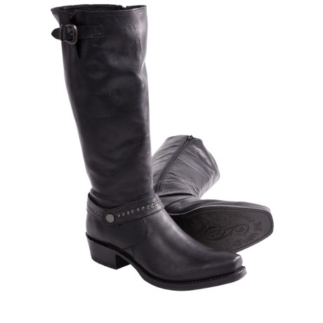 "Sonora Melinda Boots - 14"", Narrow Square Toe (For Women) in Black"