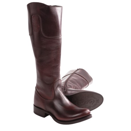"Sonora Sophie Boots - 16"", Round Toe (For Women) in Dark Copper"