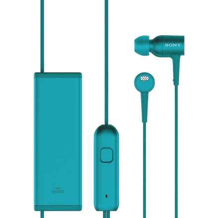 Sony Noise Cancelling Headphones with Mic in Blue - Closeouts