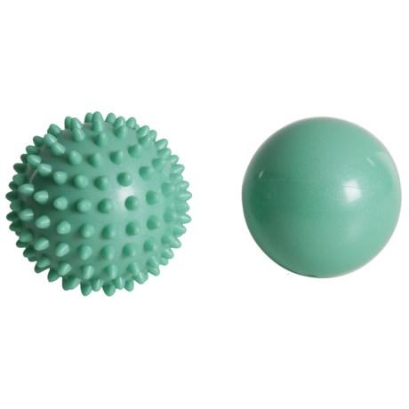 Soothe Massage Balls Kit - 2-Pack in Aqua