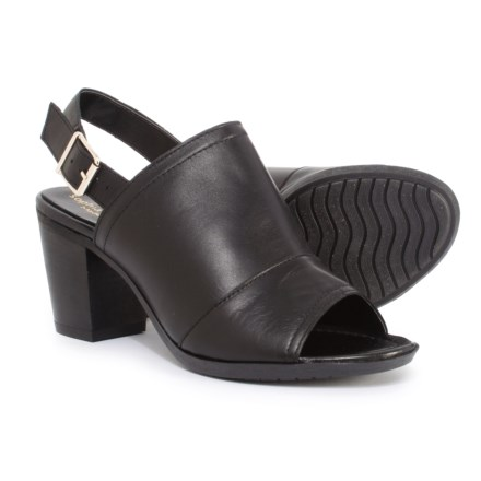 d0693ba778acfb Sophia Milano Made in Italy Hooded Sling Shoes - Leather (For Women) in  Black