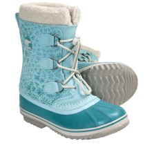 Sorel 1964 Pac Graphic Winter Boots - Waterproof (For Youth Girls) in Clear Blue - Closeouts