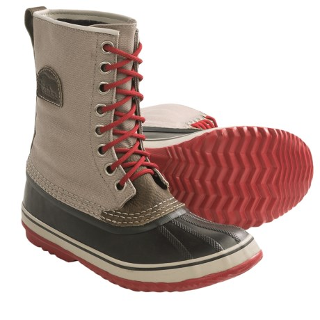 Sorel 1964 Premium CVS Waterproof Pac Boots (For Women) in Dark Fossil/Dark Moss