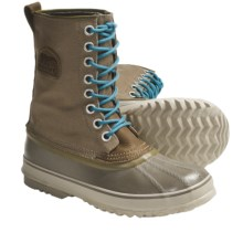 Sorel 1964 Premium CVS Waterproof Pac Boots (For Women) in Lead Grey/Enamel Blue - Closeouts