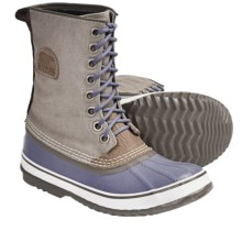 Sorel 1964 Premium CVS Waterproof Pac Boots (For Women) in Stone/Whisper - Closeouts