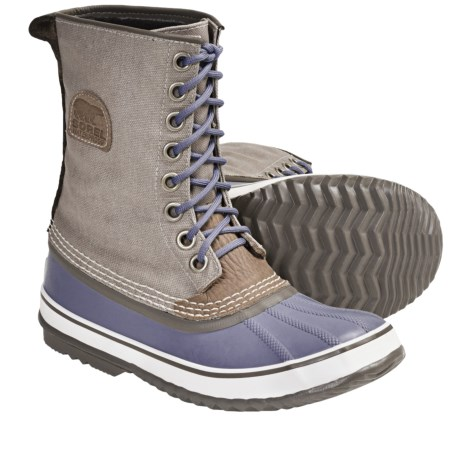 Sorel 1964 Premium CVS Waterproof Pac Boots (For Women) in Stone/Whisper
