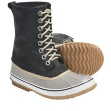 Sorel 1964 Premium Leather Pac Boots - Waterproof (For Women) in Black - Closeouts