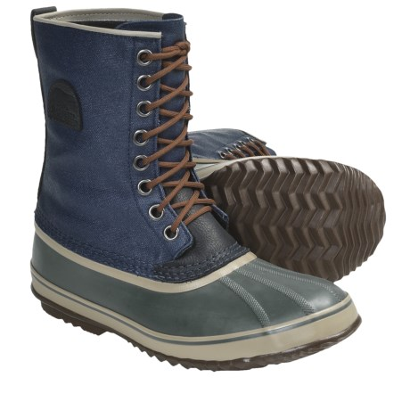 Sorel 1964 Premium T CVS Pac Boots (For Men) in Collegiate Navy/Gravel