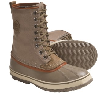 Sorel 1964 Premium T CVS Pac Boots (For Men) in Goat/Dark Olive