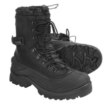 Sorel -40°F Conquest Winter Boots - Waterproof Thinsulate® Ultra (For Men) in Black - Closeouts
