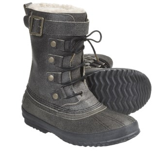 Sorel 64 Reserve Pac Boots - Waterproof, Insulated (For Men) in Black