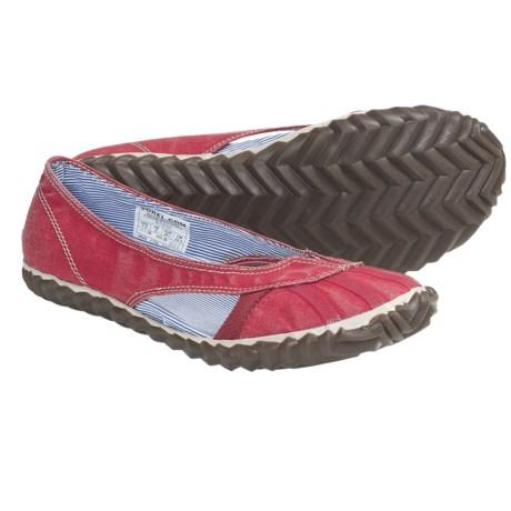 Sorel Bathing Canvas Shoes - Oxford Flats (For Women)