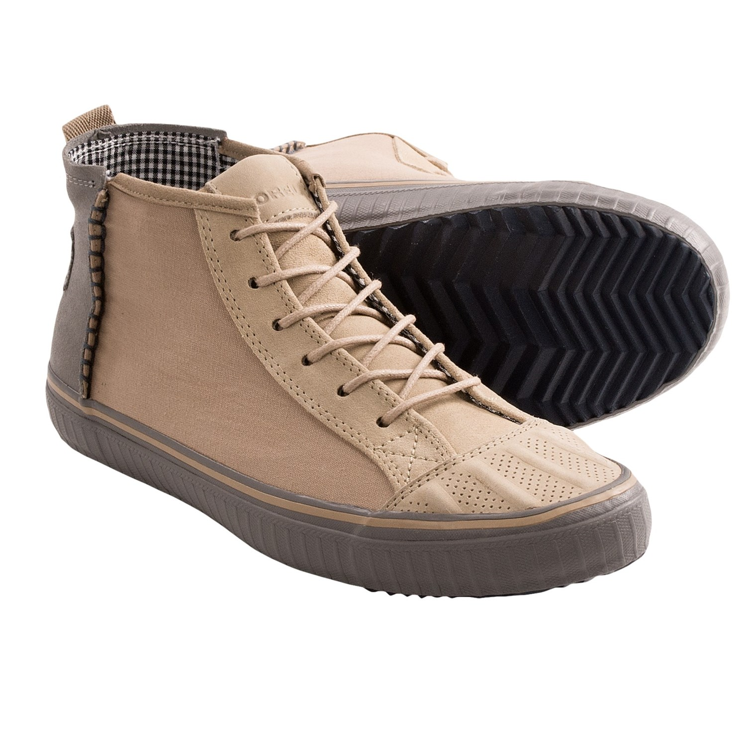 sorel berlin chukka boots canvas suede for