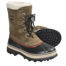Sorel Caribou II Winter Boots - Waterproof (For Men) in Olive Brown - Closeouts