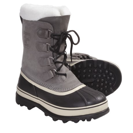 Sorel Caribou II Winter Boots - Waterproof (For Men) in Shale
