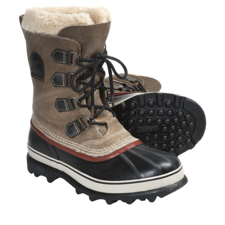 Sorel Caribou Reserve Lined Pac Boots - Waterproof, Insulated (For Men) in Truffle