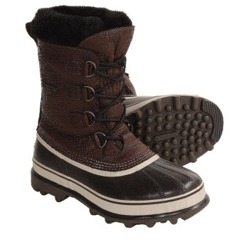Sorel Caribou Reserve Pac Boots - Waterproof, Insulated (For Men) in Bark