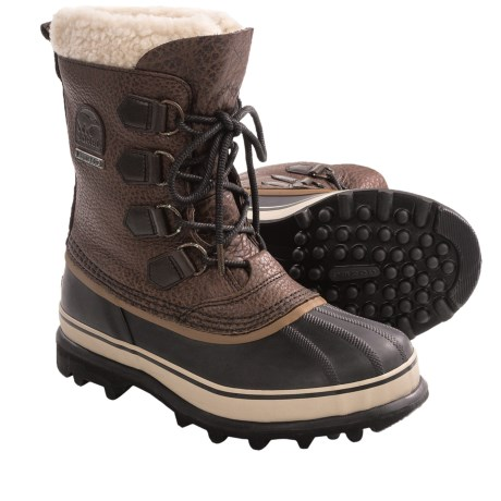 Sorel Caribou Reserve Pac Boots - Waterproof, Insulated (For Men) in Cinnamon