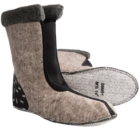 Sorel Caribou Thermoplus Boot Liners (For Men) in Dark Charcoal