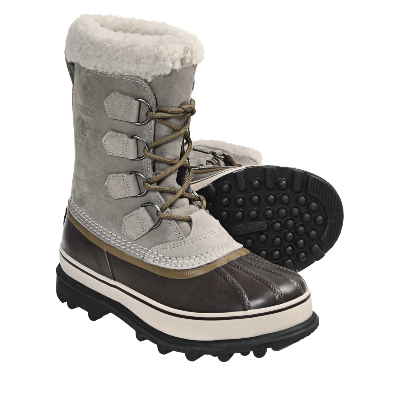 Sorel Caribou Winter Pac Boots For Women In Tusk
