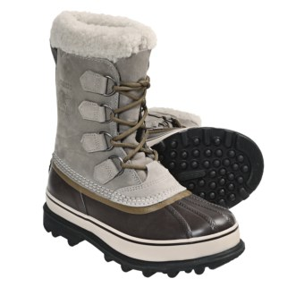 Sorel Caribou Winter Pac Boots (For Women) in Tusk