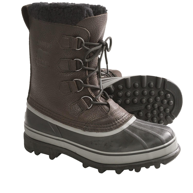 sorel caribou wool winter pac boots waterproof