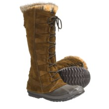 Sorel Cate of Alexandria Boots (For Women) in Autumn Bronze/Bark - Closeouts